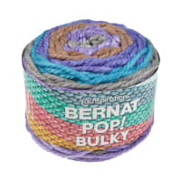 Bernat Pop! Bulky Yarn Purple Power