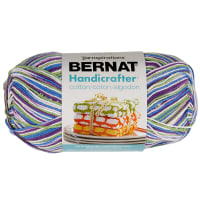 Bernat Handicrafter Cotton Ombres Yarn (340G/12 OZ), Fruit Punch
