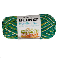 Bernat Handicrafter Cotton Ombres Yarn (340G/12 OZ), June Bug