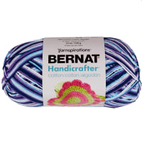 Bernat Handicrafter Cotton Ombres Yarn (340G/12 OZ), Moondance