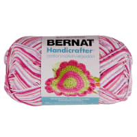Bernat Handicrafter Cotton Ombres Yarn (340G/12 OZ), Patio Pinks
