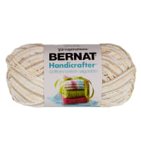 Bernat Handicrafter Cotton Ombres Yarn (340G/12 OZ), Queen Anne's Lace