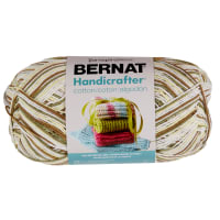 Bernat Handicrafter Cotton Ombres Yarn (340G/12 OZ), Wooded Moss
