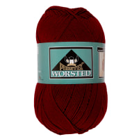 Phentex Worsted Yarn, Burgundy