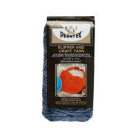 Phentex Slipper & Craft Yarn Denim Heather