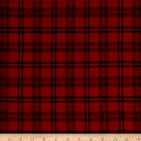 Plaid Flannel PLD-14-8 Red/Black