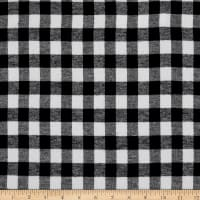 Plaid Flannel PLD-27 Black/White