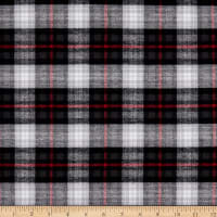 Plaid Flannel PLD-300 Black/Grey