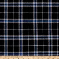 Plaid Flannel PLD-31 Black/Grey