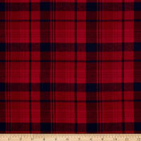 Plaid Flannel PLD-313 Red