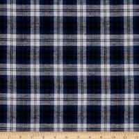 Plaid Flannel PLD-5 Grey/Navy