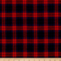 Plaid Flannel PLD-5 Red/Navy