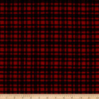 Plaid Flannel PLD-515 Red/Black
