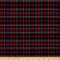 Plaid Flannel PLD-59 Red/Blue