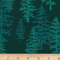 Art Gallery Foresta Fusion Mystical Woods Foresta Teal