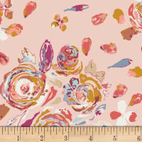 Art Gallery Rosewood Fusion Swifting Flora Pink/Peach