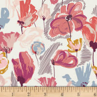 Art Gallery Rosewood Fusion Wild Beauty Pink