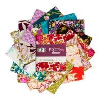 Art Gallery 365 Fifth Avenue Fat Quarters 16 Pcs Multi