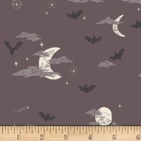Art Gallery Spooky 'n Sweet Batty Over You Grey/Black