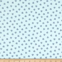 3 Wishes Poochie McGruff Flannel Paws Turquoise