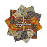 "3 Wishes Autumn Steam 10"" Squares 20pcs Multi"