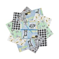 "3 Wishes Fancy Farm 10"" Squares 20pcs Multi"