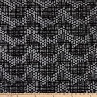 Milly Designer Sequin Embroidered Netting Black