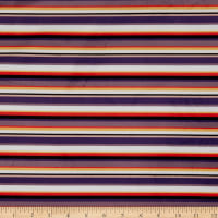 E.Z. Fabric Exclusive Minky Stripes Navy
