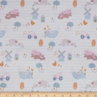 E.Z. Fabric Exclusive Minky Farm House Cream