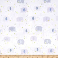 E.Z. Fabric Exclusive Minky Goodnight Baby Gray