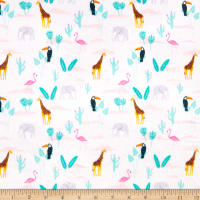 E.Z. Fabric Exclusive Minky Go Your Own Way Sand