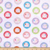 E.Z. Fabric Exclusive Minky Baby Lions Cream