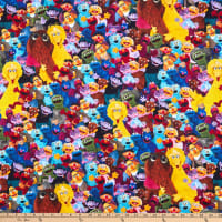 EXCLUSIVE Sesame Street Grouped Characters Multi