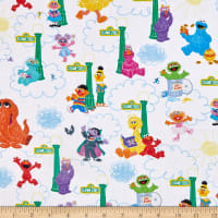 EXCLUSIVE Sesame Street Digital Small Vertical Character White