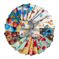 EXCLUSIVE Sesame Street Fat Quarter Bundle 24 pcs Multi