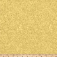 Stoffabric Denmark Magic Christmas  Small Dots Beige Gold