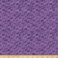 Stoffabric Denmark Magic Christmas Zig Zag Lines Purple