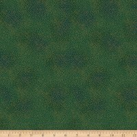 Stoffabric Denmark Magic Christmas Small Dots Green