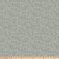 Stoffabric Denmark Little Christmas Eve Small Christmas Motifs Grey