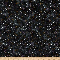 Northcott Wicked Dots Black Multi