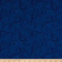 """Just Color 108"""" Swirl Navy"""