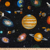 Planetary Missions Outer Space Multi