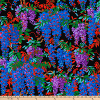Kaffe Fassett Collective Wisteria Black