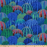 Kaffe Fassett Collective Watermelons Blue