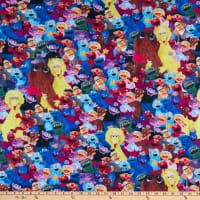 EXCLUSIVE KNIT Sesame Street Group of Characters Multi