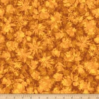 Stoffabric Denmark Solaire Leaves Cognac