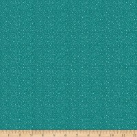 Stoffabric Denmark Solaire Small Dots Dark Turquoise