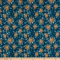 Windham Fabrics Whale Tales Octopus Ocean