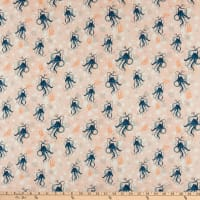 Windham Fabrics Whale Tales Octopus Shell