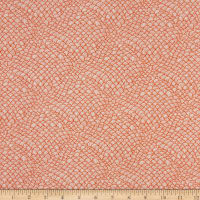 Windham Fabrics Whale Tales Waves Coral